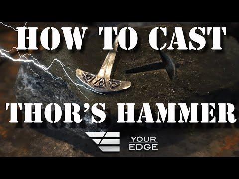 How to Make a Thor's Hammer (Mjölnir) - Your Edge