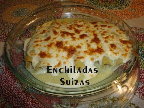 Enchiladas Suizas Recetas Una Pizca de Sabor