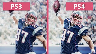 Madden NFL 17 – PS3 vs. PS4 Graphics Comparison