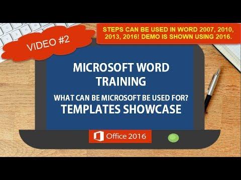 Microsoft Word 2016 Templates Showcase   TurboFuture