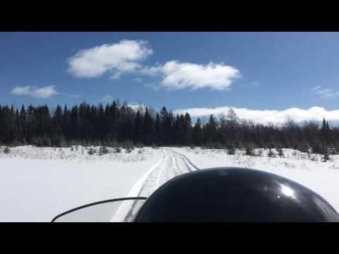 Snowmobile Northern Maine