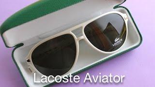 Lacoste Magnetic Aviator Sunglasses