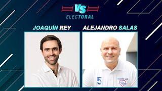 Elecciones 2021: Joaquín Rey vs Alejandro Salas | Versus Electoral