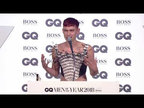 "Olly Alexander: ""Men don't talk about their feelings"" | GQ Awards 2018 | British GQ"
