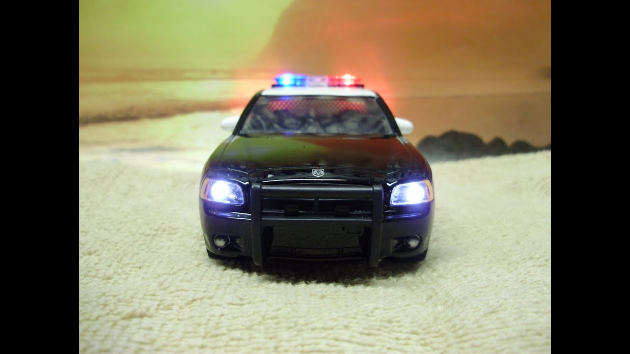 Custom 1 32 Scale Chp Dodge Charger Diecast Police Car W
