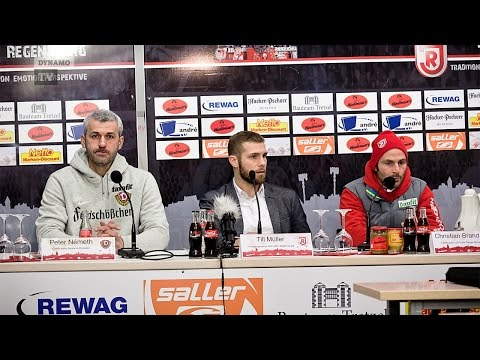 27. Spieltag   SSV - SGD   Pressekonferenz nach dem Spiel