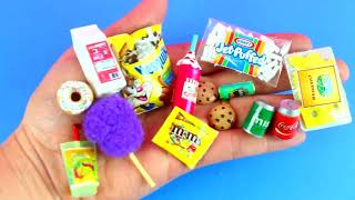 100 DIY MINIATURE FOOD REALISTIC HACKS AND CRAFTS