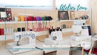 Video ♡ ATELIER TOUR : Visite de mon atelier couture & DIY ♡ download MP3, 3GP, MP4, WEBM, AVI, FLV September 2018