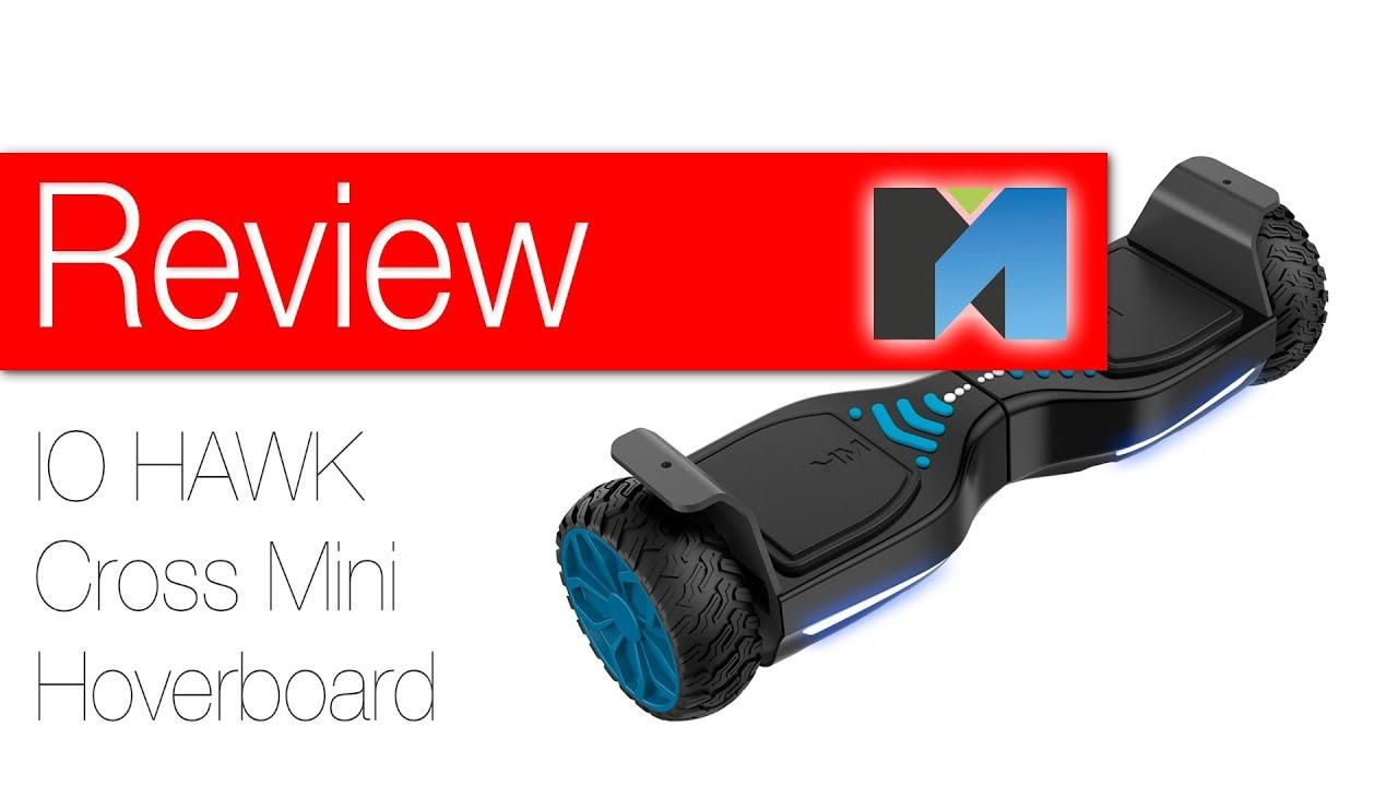 io hawk cross mini hoverboard im test youtube. Black Bedroom Furniture Sets. Home Design Ideas