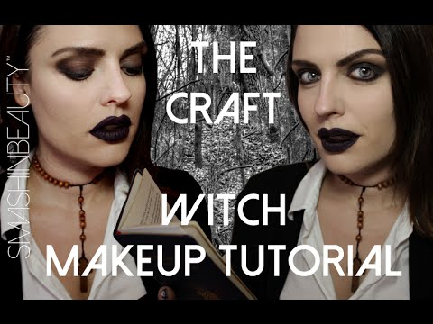 The Craft Witch Halloween Makeup Tutorial 2017 (Nancy Downs ...