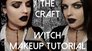 The Craft Witch Halloween Makeup Tutorial 2017 (Nancy Downs) | SMASHINBEAUTY