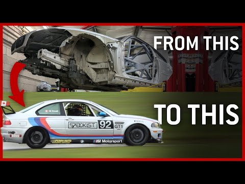 HOW TO BUILD A BMW M3 RACECAR - Lets Go Grassroots Episode 3
