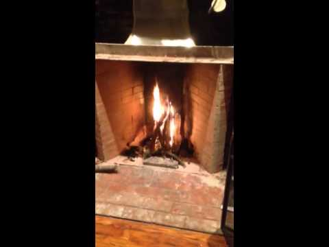 Rumford fireplace