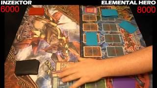 Yugioh Duel: Elemental Hero vs Inzektor - Round 3