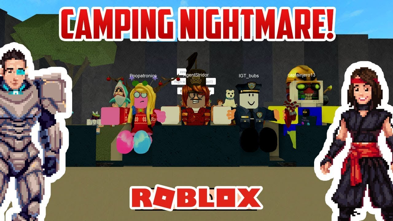 Scariest Worst Camping Trip Ever Roblox Camping Youtube
