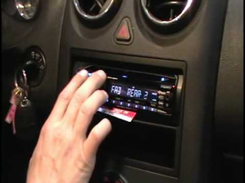Geek Squad Auto Tech Radio Installation. - YouTube