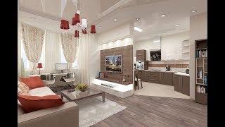 Дизайн Кухни Гостиной 30 кв м - 2019 / Kitchen Design Living room 30 sq m / Kche Design Wohnzimmer