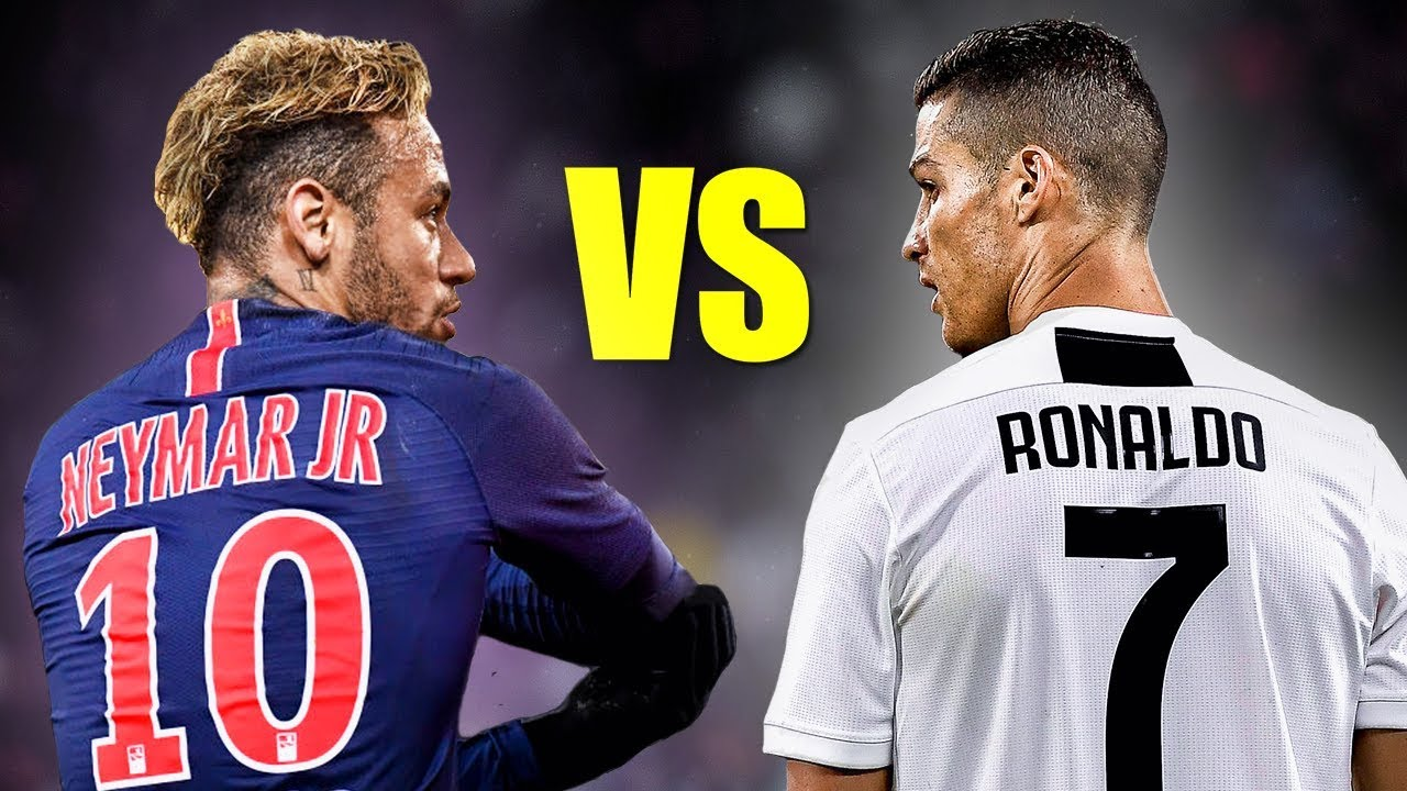 Neymar Jr vs Cristiano Ronaldo ● Skills Battle | Who's the most skillful? 2018/2019 HD
