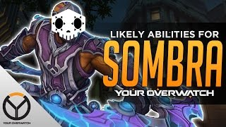 Overwatch: Sombra Hero Ability Speculation