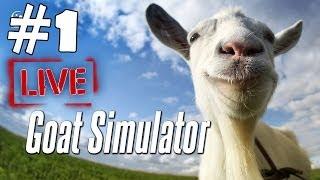 Goat Simulator Walkthrough Part 1 Gameplay Let