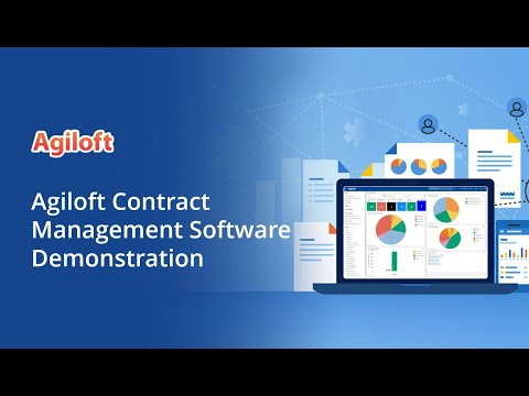Agiloft Contract Management Software Demonstration