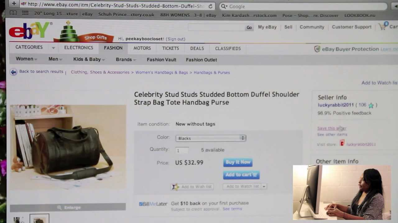 How To Shop Online Ebay Youtube