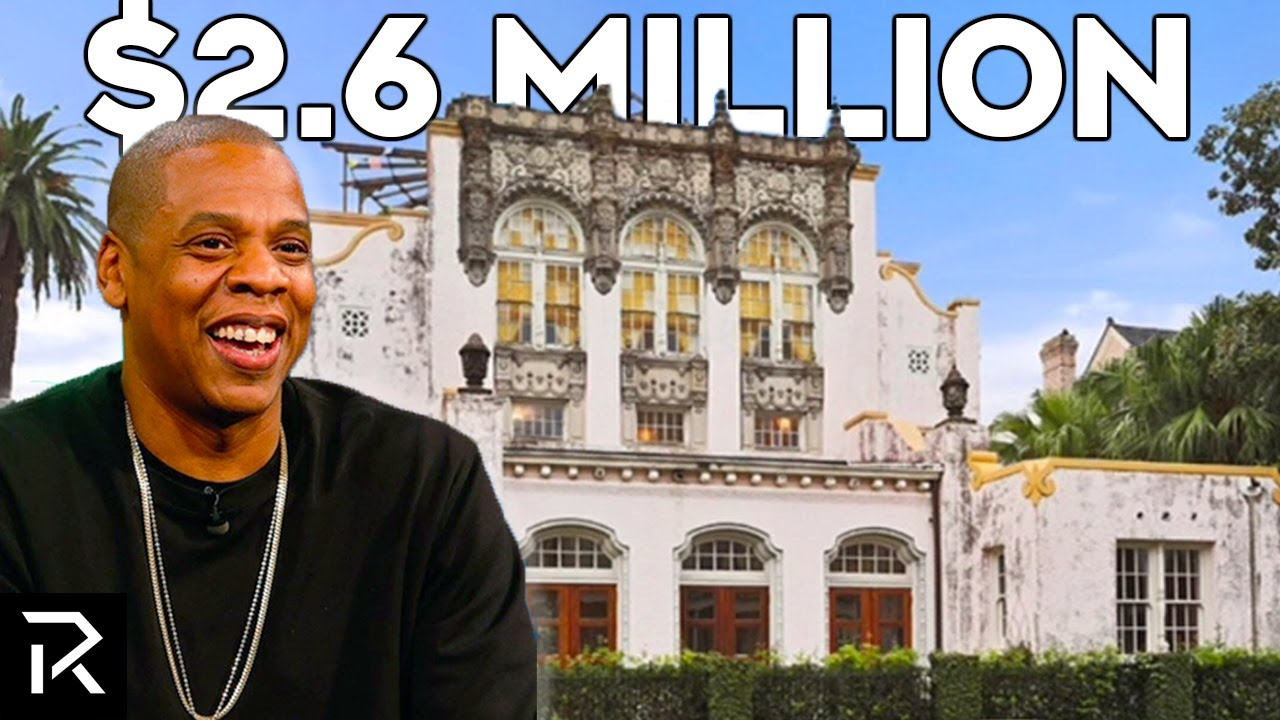 Inside Jay Z's $2.6 Million Mansion