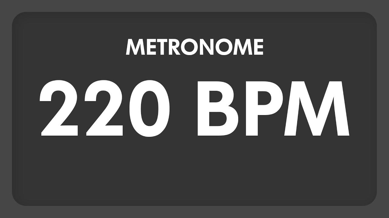 220 BPM - Metronome