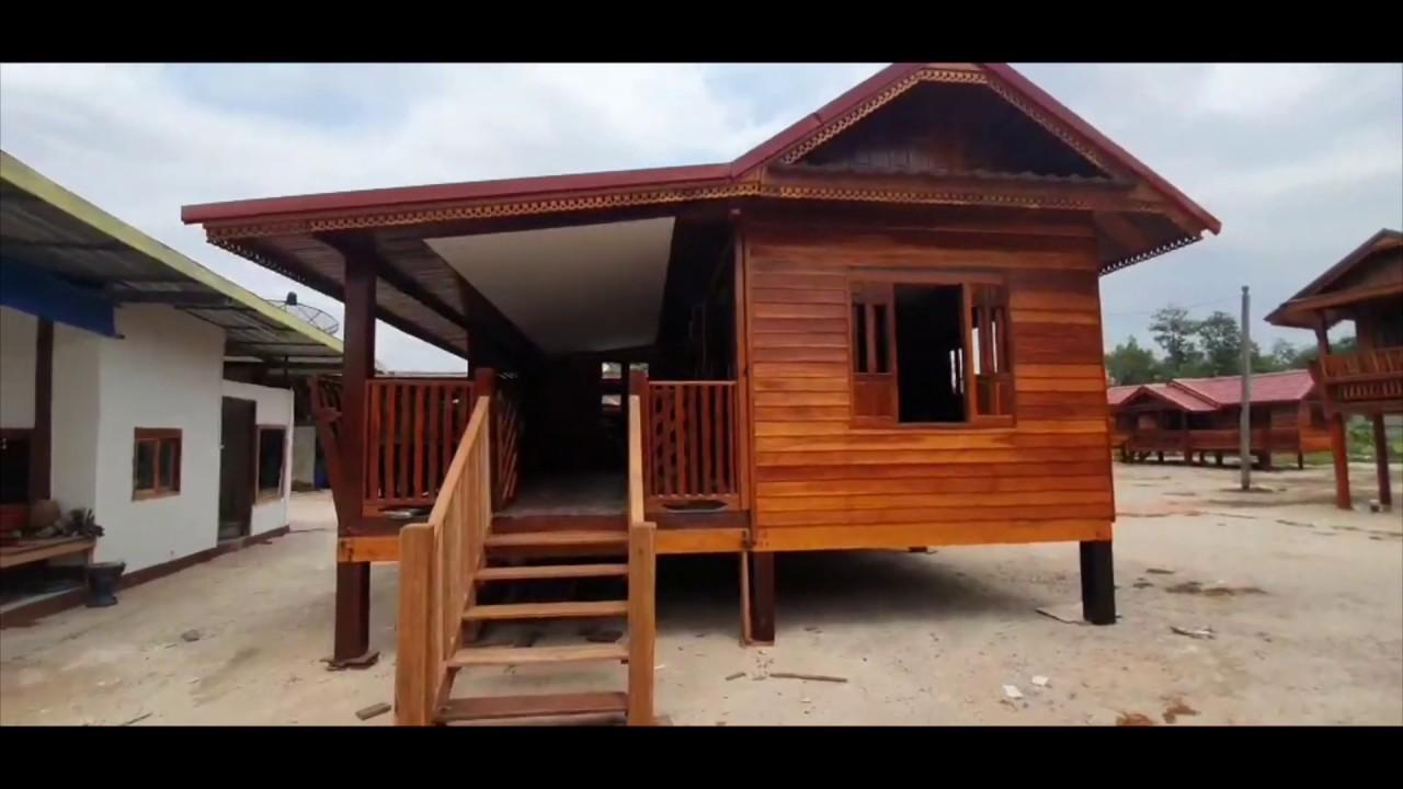 บ้านไม้ลุงหาร 6×6 เมตร ราคา 350,000 บาท