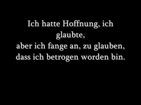 Linkin Park - No more Sorrow ( Mit Deutscher Übersetzung!!)
