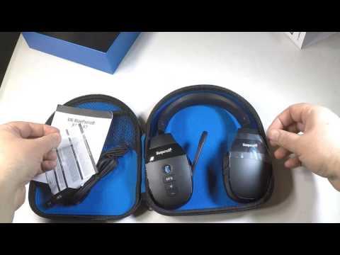 VXi BlueParrott® S450-XT Stereo Bluetooth® Headset Unboxing Review