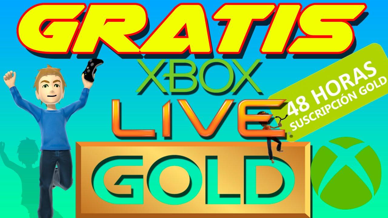 Gold xbox codigos horas live 48 gratis de de Consigue Gratis