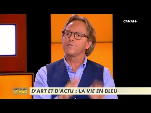D'art et d'actu : la vie en bleu - L'info du vrai du 13/11 - CANAL+
