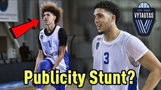 The TRUTH About The Ball Brothers In LITHUANIA! | Is It Just A PUBLICITY STUNT?