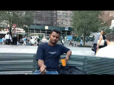 During college...newyork city...break time..and fun