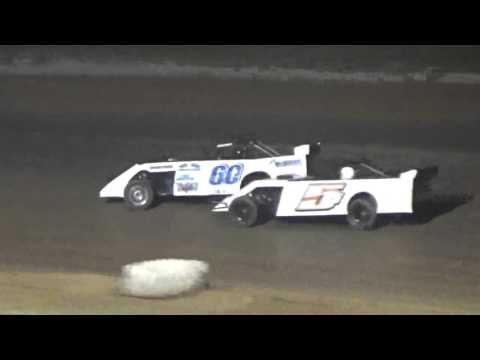 Ark La Tex Speedway Pro Mod A feature Fan night part 4 4/23/16