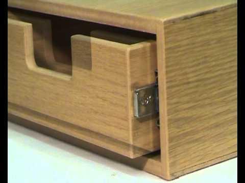 accuride teleskopschiene typ 3832tr tipp ausl ser schublade dr cken zum ffnen oder schliessen. Black Bedroom Furniture Sets. Home Design Ideas