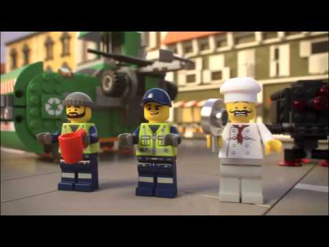 The Lego Movie | 70805 | Garbage Truck | Lego 3D Review