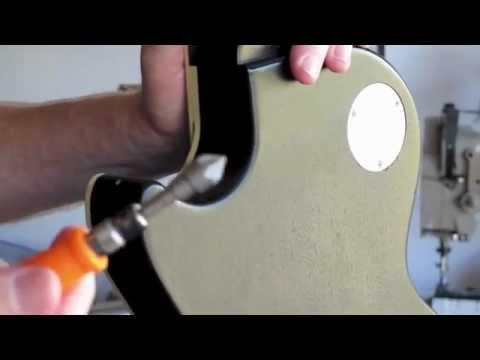Guitar Strap Button Installation Youtube