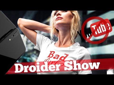 Клоны iPhone X, Android P,  Блокировка Youtube и Instagram   Droider Show #329