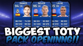 BIGGEST 6 MILLION COINS TOTY PACK OPENING !! TOTY RAMOS + NEUER HUNT