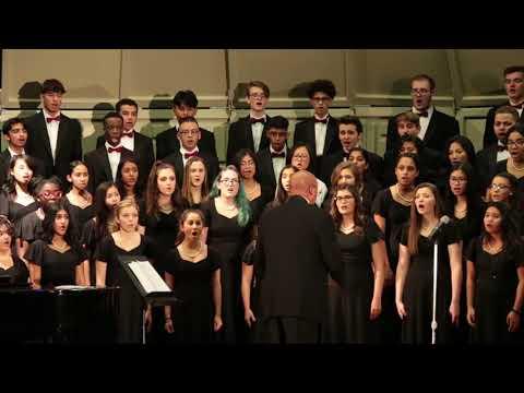 Edison High School Winter Choral Concert 2018