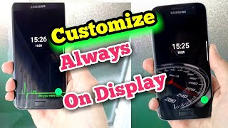 Customize Always On Display | Galaxy S8 | S7 | A5 | A7