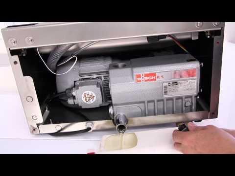 Service Vacuum Pump Table-top Machine