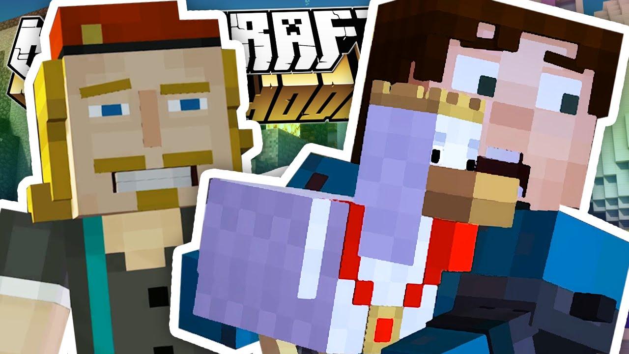 Minecraft Story Mode Secret Build Club Episode 5 2 Safe
