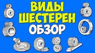 Виды зубчатых колес. Характеристика и классификация шестерен