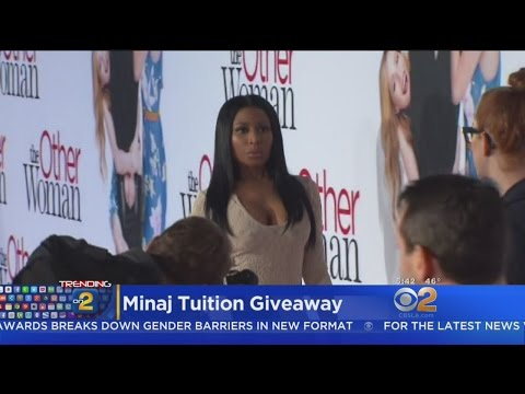 Nicki Minaj Promises To Help Fan With School Tuition