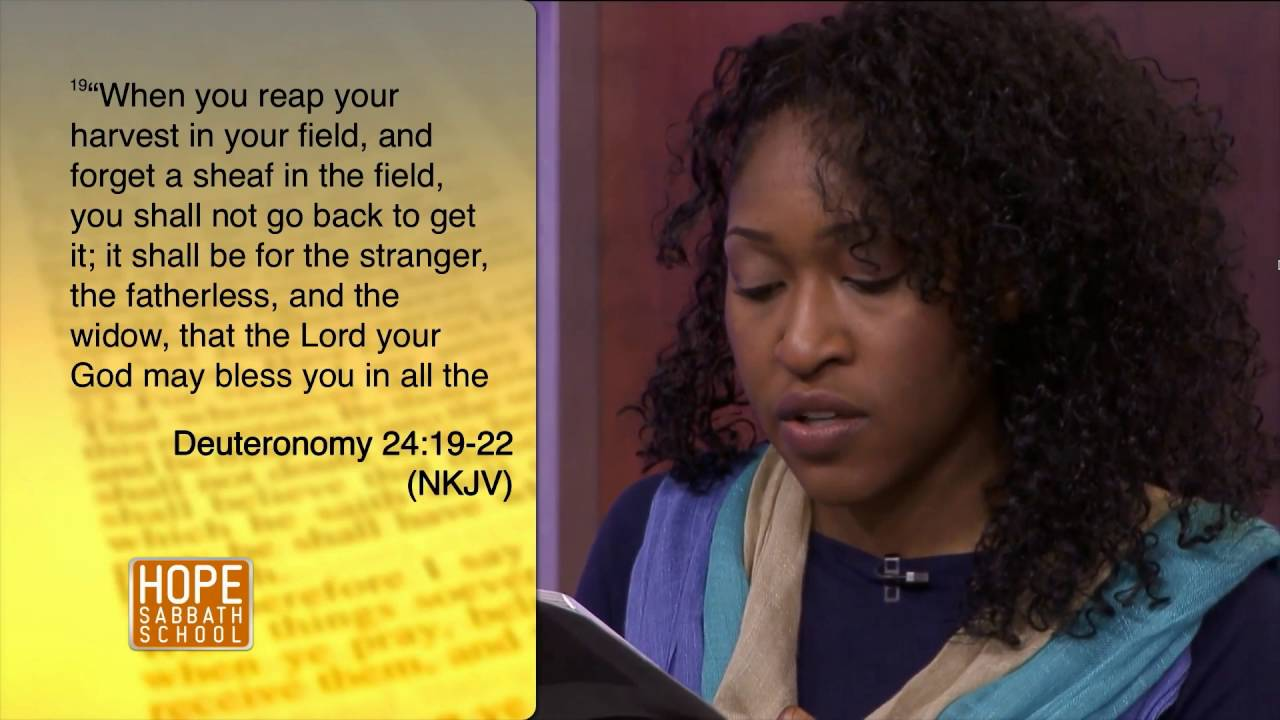 Hope Sabbath School: Lesson 3 - Justice and Mercy in the Old Testament: Part I (3rd Qtr 2016)