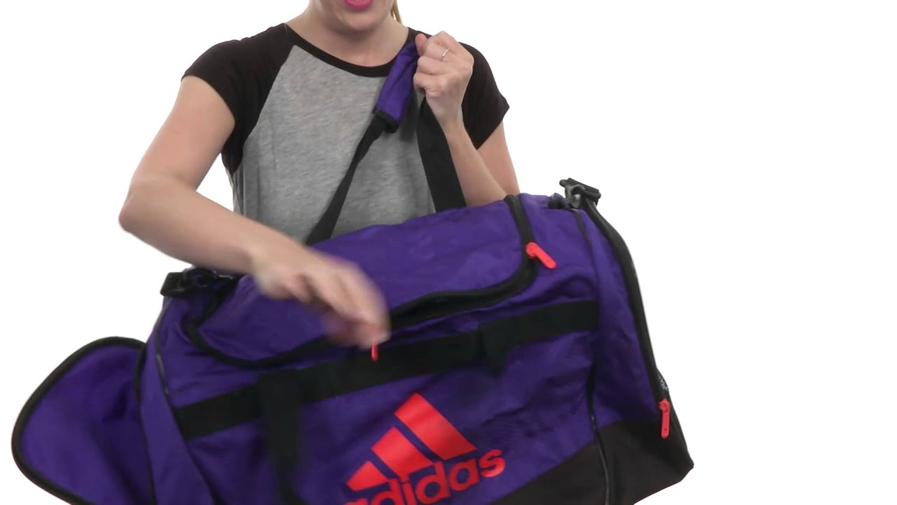 adidas Defender II Duffel Medium SKU 8493785 - YouTube 4ff713115c84d