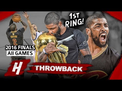Kyrie Irving 1st Championship, Full Series Highlights vs Warriors 2016 Finals - EPIC CLUTCH Shot!